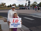 Right to Life, Life Chain Event - October 5, 2014